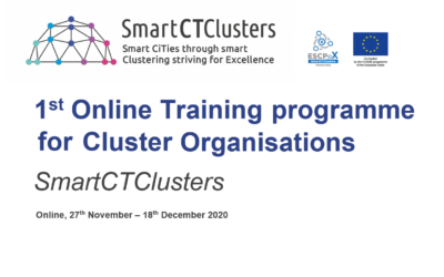 1st Online Training programme for Cluster Organisations