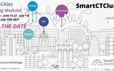 SmartCTClusters is launching its 2nd Training Modules Programme on Smart Cities